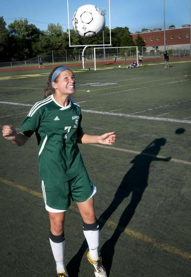 Hamden High School's Rachel Ugolik. Melanie Stengel/Register