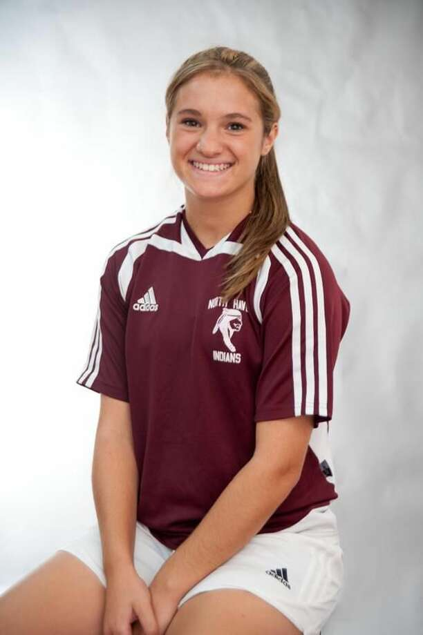 North Haven soccer player Sarah Pandolfi is the Register's Female Athlete of the Week. (VM Williams/Register)
