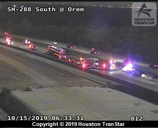 Multi-vehicle crash on State Highway 288 at Orem shuts down freeway