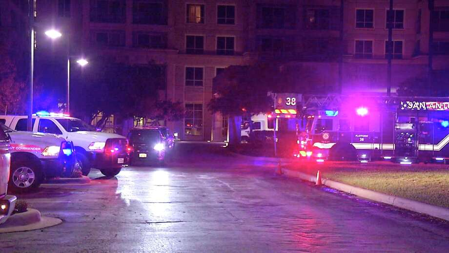 SAFD responded to a fire at a Northeast Side retirement community. Photo: Ken Branca