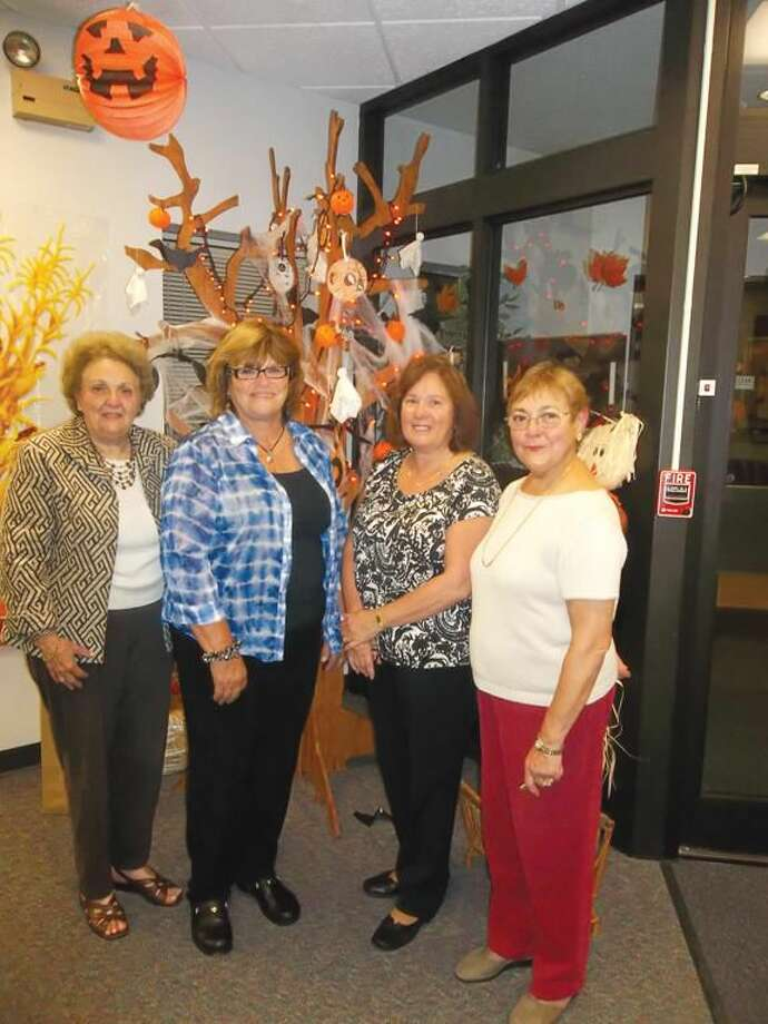 Submitted Photo Betty Wetmore (2nd from Left) with Fashion Show Committee Members, left to right, Marge Giunti, Antoinette Antonucci, and Annette Lavelle.