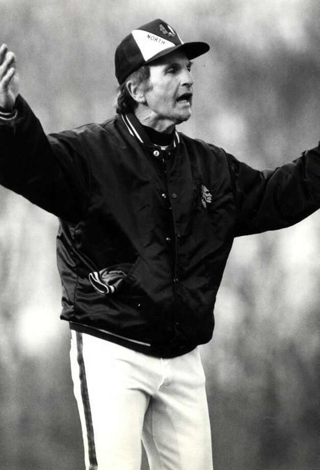 North Haven baseball coach Bob DeMayo. (Register file photo)