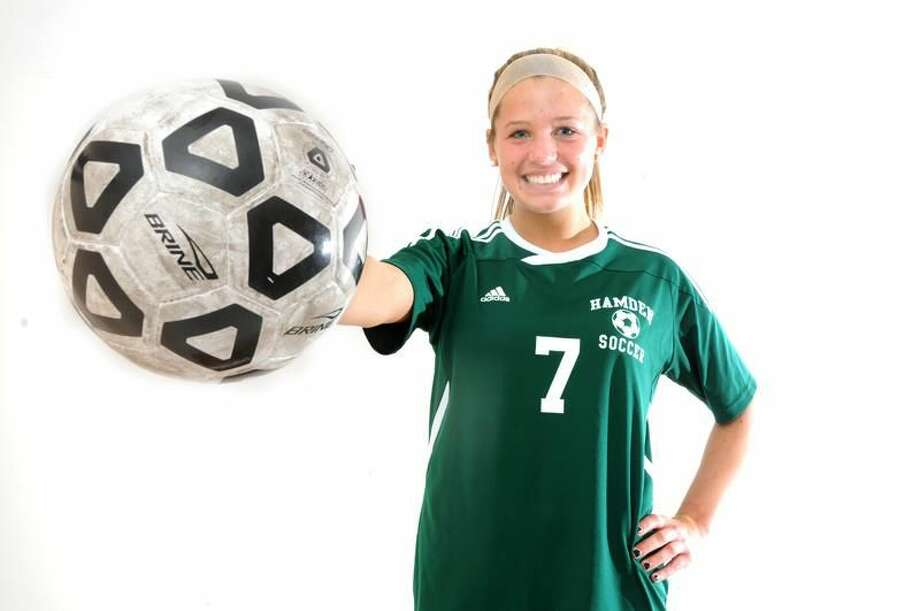 Hamden's Rachel Ugolik is the Post-Chronicle's Sports Person of the Year for 2012. Photo by Peter Hvizdak / New Haven Register