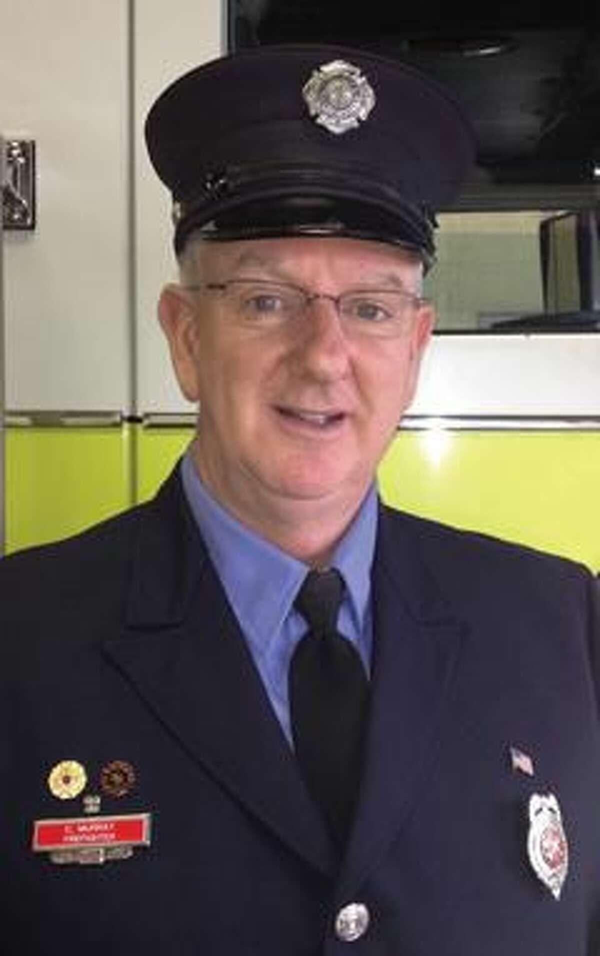 Firefighter Christopher Murray