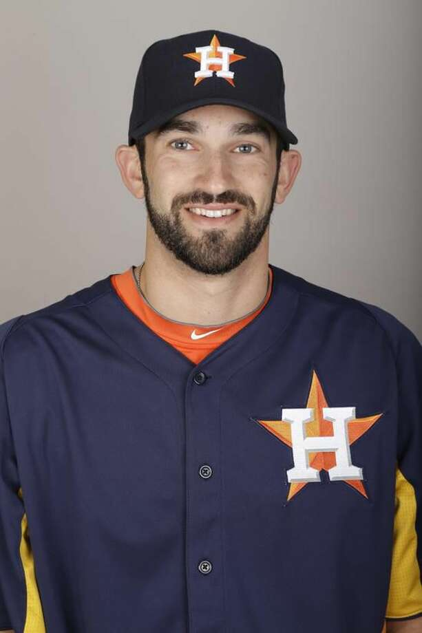 This is a 2013 photo of Josh Zeid of the Houston Astros baseball team. This image reflects the Astros active roster as of Thursday, Feb. 21, 2013, when this image was taken. (AP Photo/David J. Phillip)