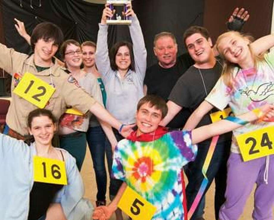 """Submitted Photo The Turnpike Players present """"The 25th Annual Putnam County Spelling Bee,"""" June 14 to 16, at the Unitarian Society, 700 Hartford Turnpike."""