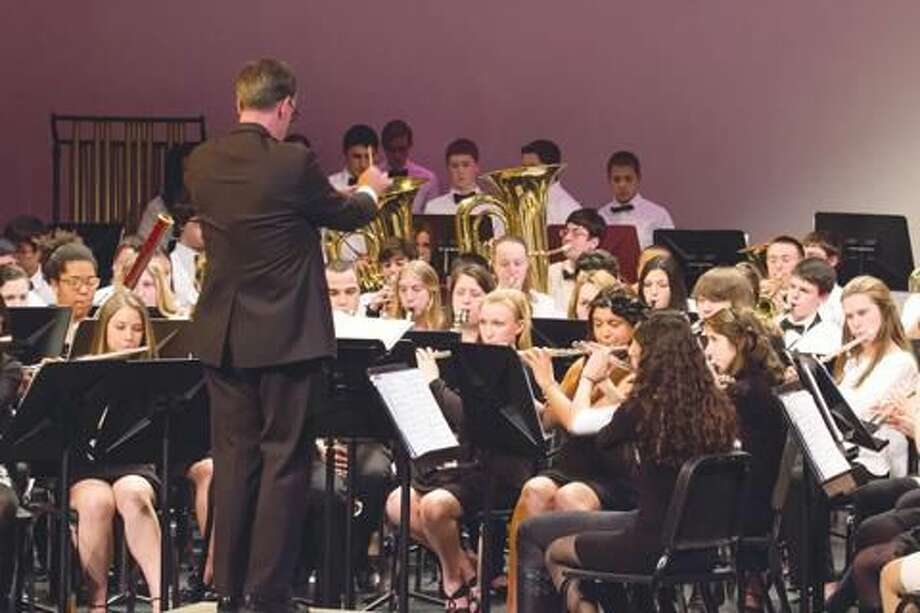 Submitted Photo The North Haven High School Concert Band will perform a free concert Tuesday, June 11, 6 p.m., on the North Haven Green.