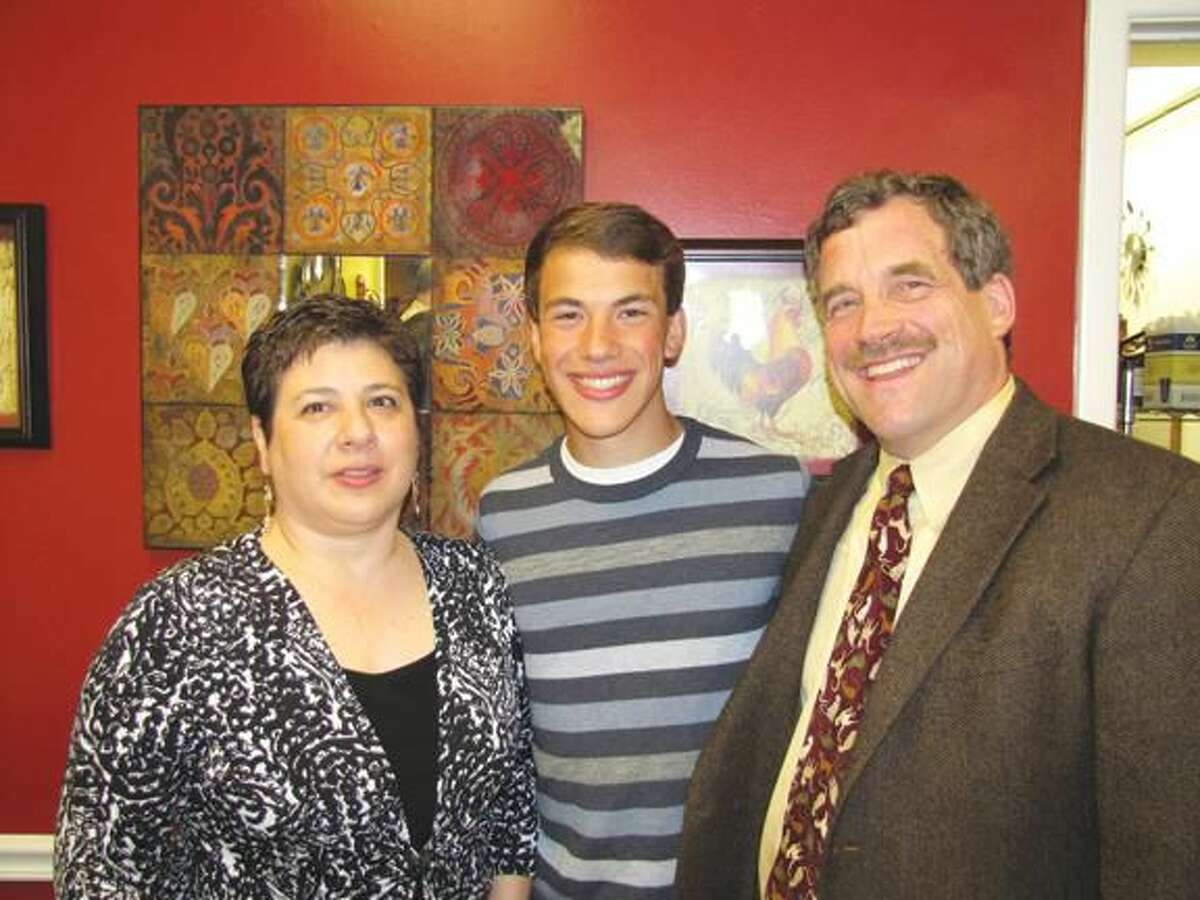 Photo courtesy of David Marchesseault & George Guertin The June North Haven Rotary NHHS Student of the Month is Jesse Morrow, son of Rev. Scott Morrow and Carol Amico.