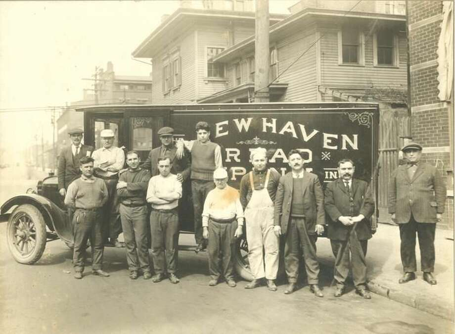 New Haven Bread Company, photograph, circa 1917. Collection of the New Haven Museum. From the exhibition, Beyond the New Township: Wooster Square, on view at the New Haven Museum through Feb. 28, 2014.