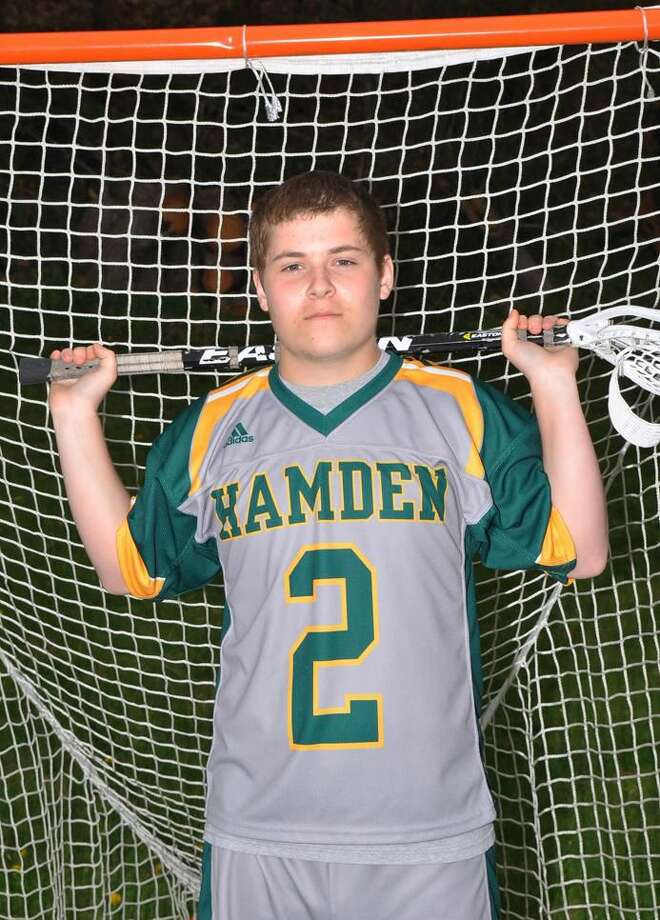 Submitted photo Hamden's Zack Jolles