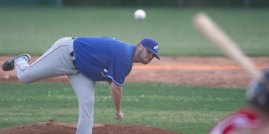 Photo by Russ McCreven The A-Plus Plumbing baseball team is taking aim at another West Haven Twilight League championship.