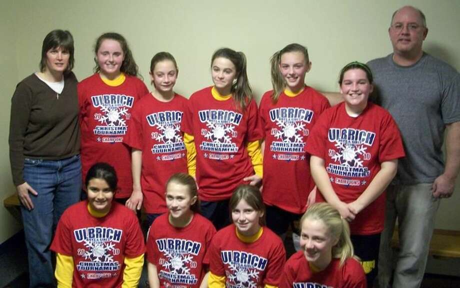 Submitted photo The Wallingford Ulbrich sixth-grade girls' travel basketball team.