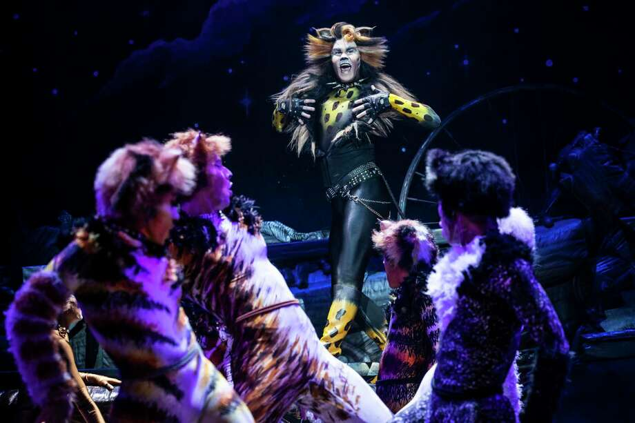McGee Maddox in the touring version of 'Cats' coming to Houston (2019) Photo: Matthew Murphy