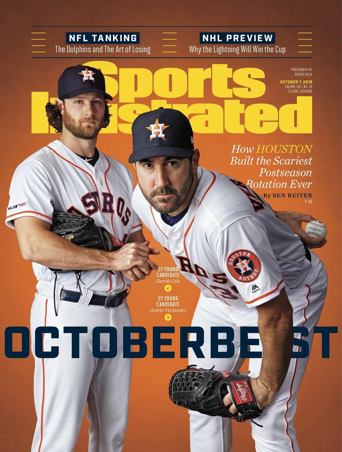 Astros' Gerrit Cole and Justin Verlander: Oct. 14, 2019