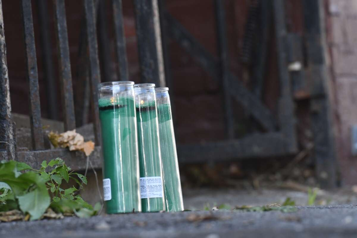 A memorial is already growing near where a 20-year-old man was shot and killed Monday on Second Street between Judson Street and North Lake Avenue. The killing was Albany's second homicide of the year.