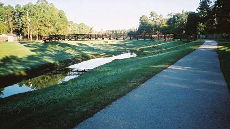 Spring Creek and Cypress Creek Greenways, which are planned to eventually connect, linking a series of parks between Highways 290 and 59. Photo: Courtesy Photos