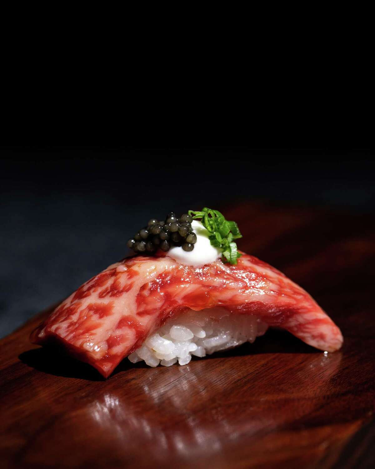 Uchiko, the sister restaurant to Uchi, will open its second Texas location at Post Oak Place, 1801 Post Oak, a new mixed-use development owned by Zadok Jewelers. Hai Hospitality, the restaurant group that operates Tyson Cole's Uchi brands, announced Uchiko will open in 2021.Shown: Uchiko A5 Nigiri.