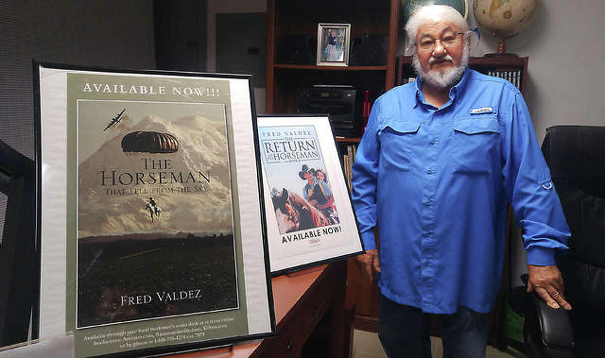 At 81, Fred Valdez of Alton, tax preparer turned author, published his second book this past spring. He currently is working on a third.