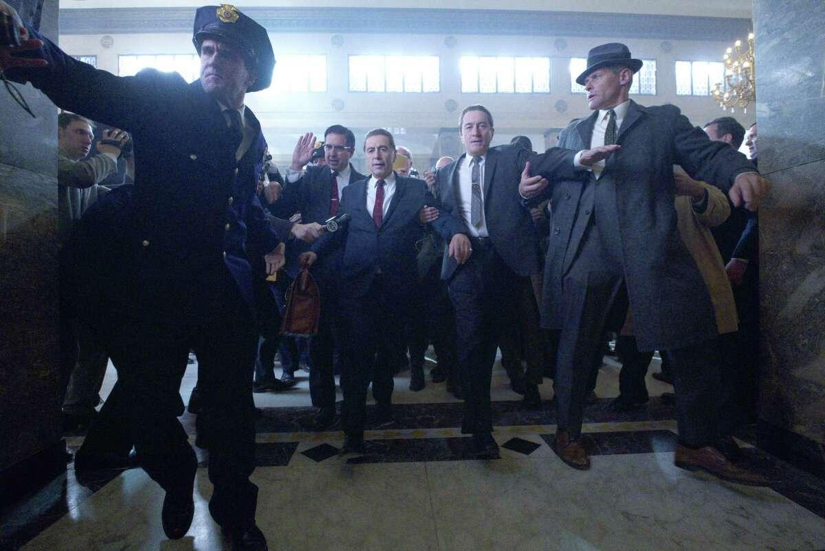 """Joe Pesi and Robert De Niro star in """"The Irishman."""""""