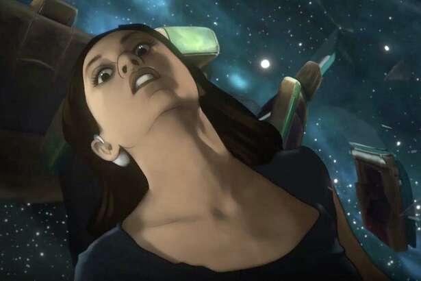 "Rosa Salazar stars in Amazon's ""Undone."""