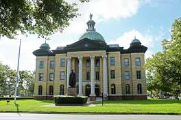 Old Fort Bend County Courthouse in Richmond on Tuesday, Oct. 1, 2019.