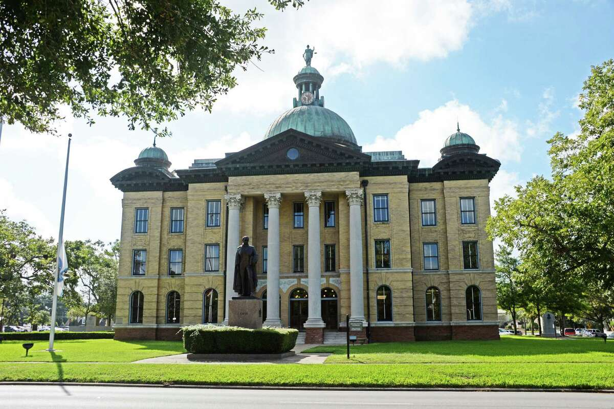 Old Fort Bend County Courthouse in Richmond in this file photo.