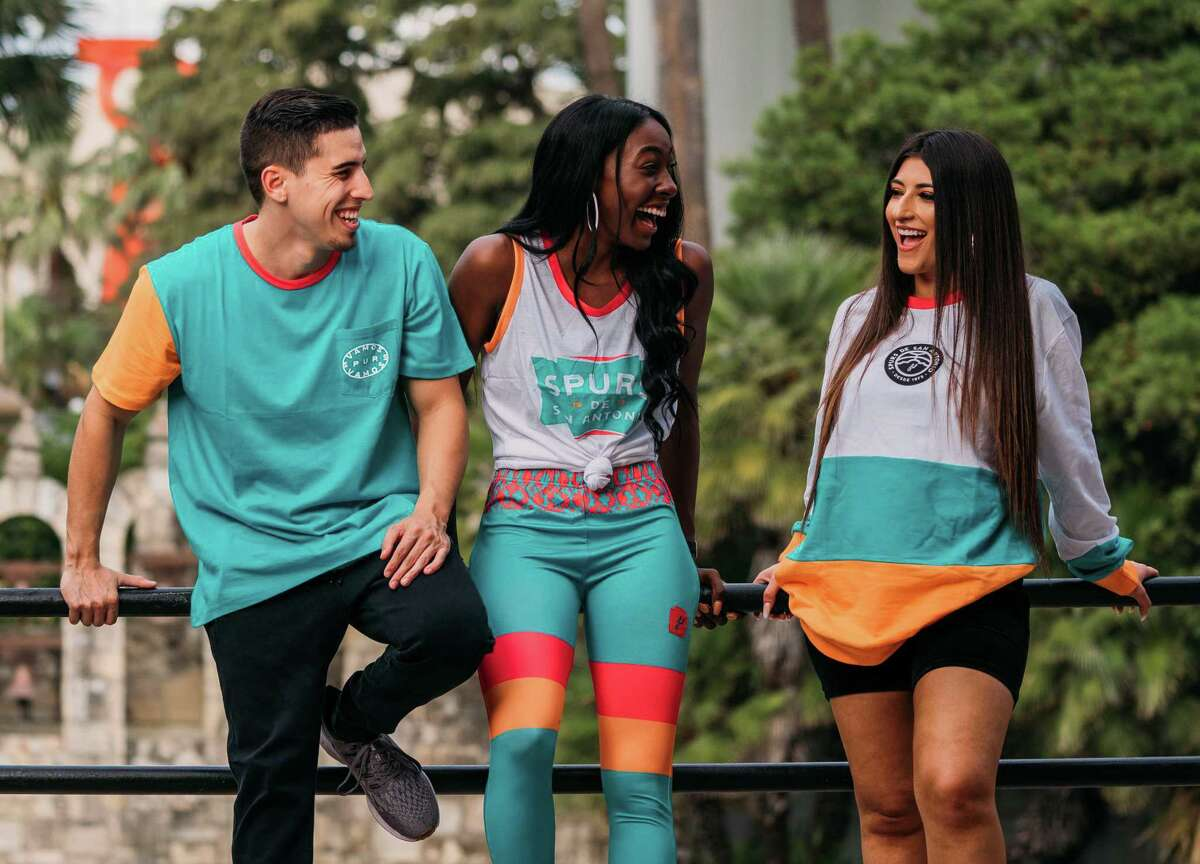 New additions to the Spurs experience for the 2019-20 season La Cultura fashion line The new, 22-piece fashion line celebrates the team's Hispanic Heritage Night game on Oct. 26. The Spurs call the vibrant collection of T-shirts, long sleeves, hoodies and sweatshirts a