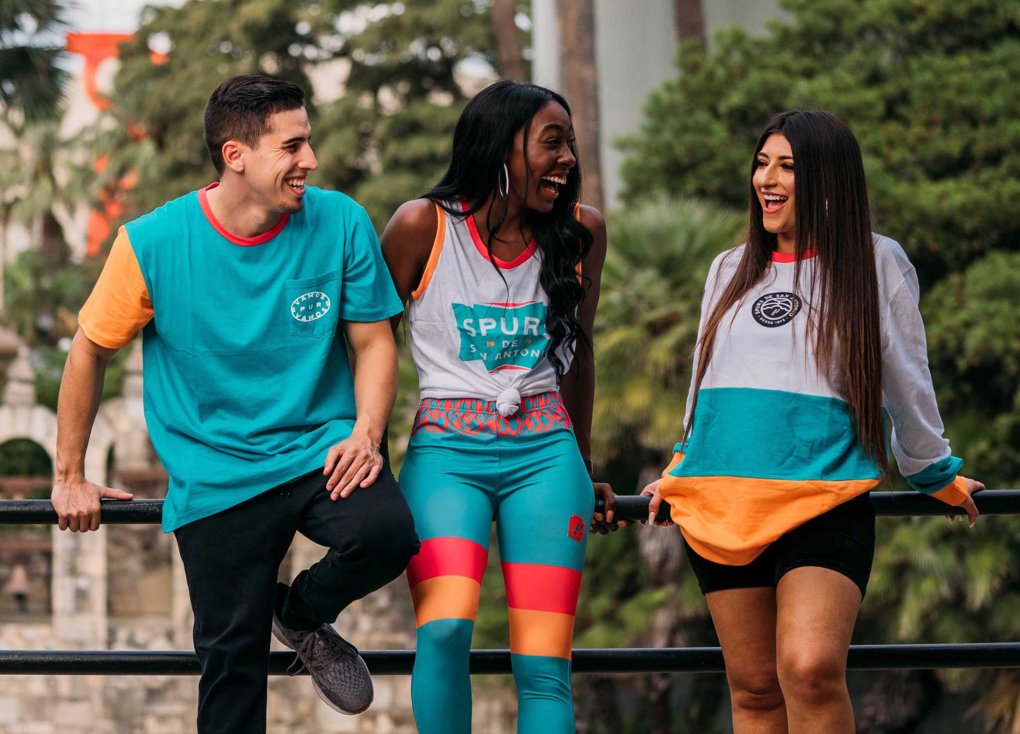 San Antonio Spurs reveal colorful streetwear line to celebrate Hispanic heritage