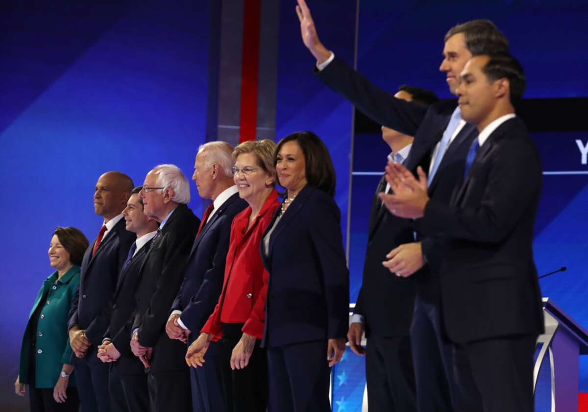 7 things to watch in the Democratic debateThe impeachment investigation of President Donald Trump has dramatically changed the campaign landscape for the Democratic presidential candidates who will gather Tuesday in Ohio for their fourth debate. By the Los Angeles Times