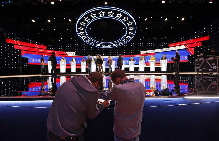 7 things to watch in the Democratic debateThe uproar over Trump asking the president of Ukraine to investigate his potential 2020 opponent Joe Biden has drawn attention away from every other Democrat in the race. And the candidates' attempts to stay focused on healthcare, immigration, guns and other issues have been largely drowned out by the impeachment media storm and raging controversy over Trump's foreign policy. That could change, at least briefly, at the CNN/New York Times debate Tuesday in Westerville, Ohio.
