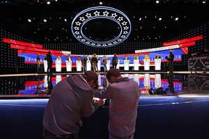 7 things to watch in the Democratic debate  The uproar over Trump asking the president of Ukraine to investigate his potential 2020 opponent Joe Biden has drawn attention away from every other Democrat in the race. And the candidates' attempts to stay focused on healthcare, immigration, guns and other issues have been largely drowned out by the impeachment media storm and raging controversy over Trump's foreign policy. That could change, at least briefly, at the CNN/New York Times debate Tuesday in Westerville, Ohio.