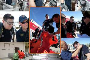 """The SAFD Facebook page shared a """"Final Alarm"""" tribute for Garza which included a collage of photos showing his line of work. Some photos show him engaging with school children as he showed them fire-fighting machinery. Others show him working with hazardous materials."""
