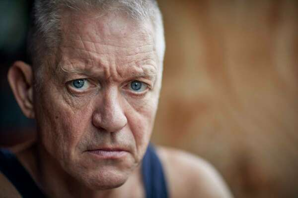 Actor Michael Enright, who vowed he was willing to die when he joined the Kurdish militia to fight ISIS, is shown in Belize this summer.