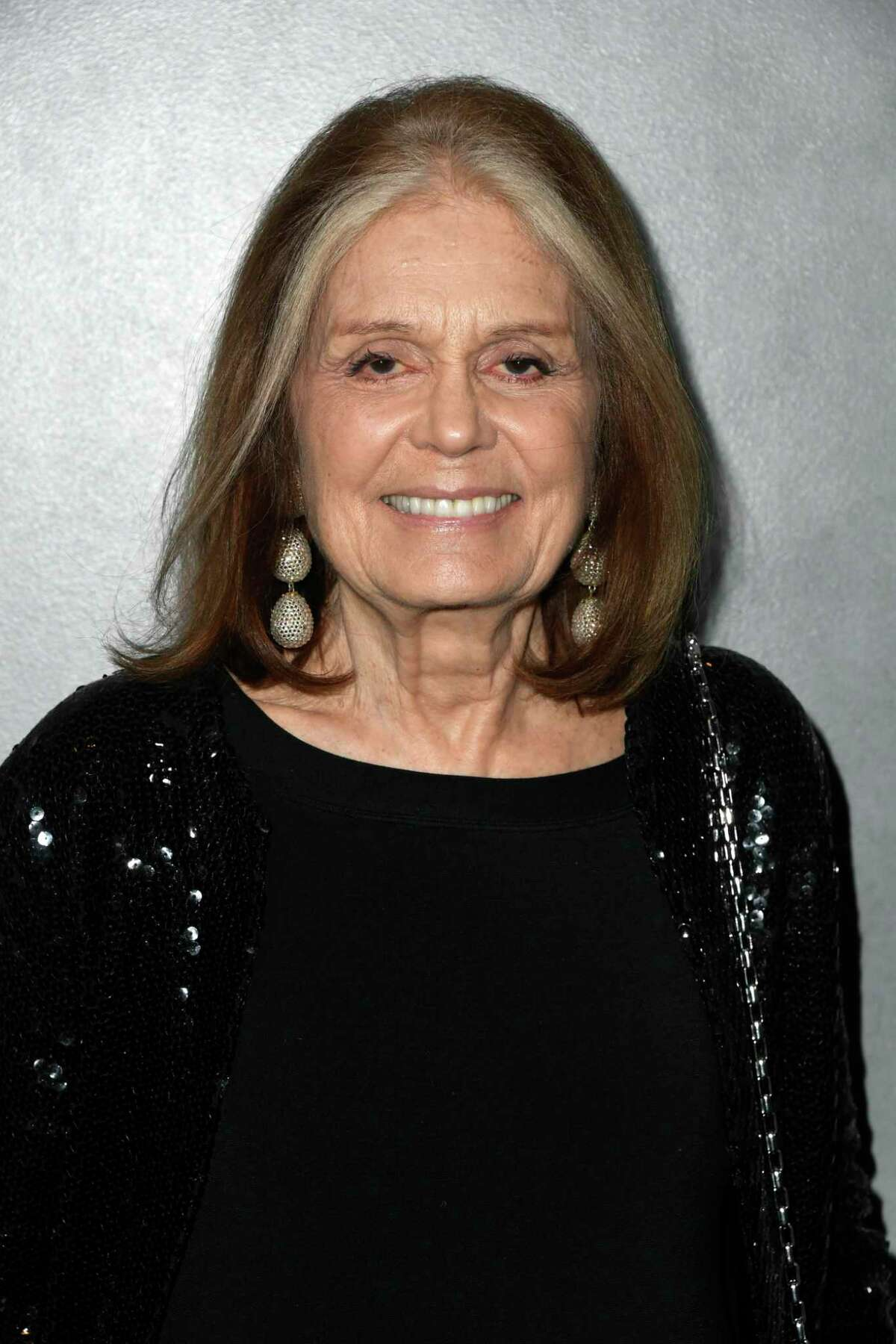 """Journalist and feminist Gloria Steinem, shown in this Oct. 12, 2019, photo, is one of several speakers who will be at Prairie View A&M University in November 2019 for a symposium focused on the contribution of black women in politics and cultural discourse as it relates to author Paul Giddings' groundbreaking book, """"When and Where I Enter."""""""