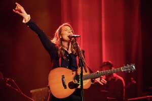 Brandi Carlile will perform at Foxwoods Resort Casino Oct. 24. She is seen here at the Beacon Theater in New York City.