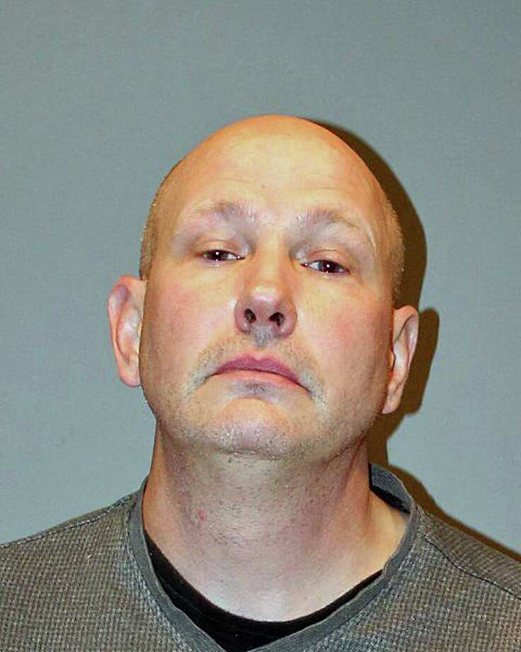 Matthew Russell Walsh, 47, of Wethersfield, was charged with reckless driving, engaging police in a pursuit, third-degree burglary, sixth-degree larceny, interfering with an officer, reckless endangerment and possession of drug paraphernalia. Photo: Contributed Photo / Stratford Police Department