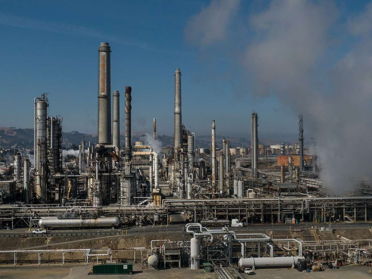 The PBF Energy oil refinery in Martinez, Calif. is among many that will be affected by more stringent pollution rules under consideration by the Bay Area Air Quality Management District. The board delayed an expected June 2 vote until June 16 after a day of discussion and public input.