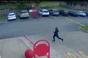 Beaumont police are looking for a man they said stole a purse from a woman in a Target parking lot on Friday.