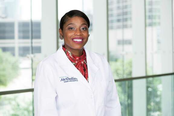 Johneca Broussard, D.O., family medicine, has joinedHouston Methodist Primary Care Group at Riverstone.