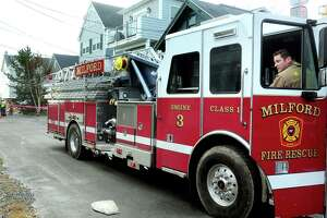 File photo of a Milford Fire Department engine.
