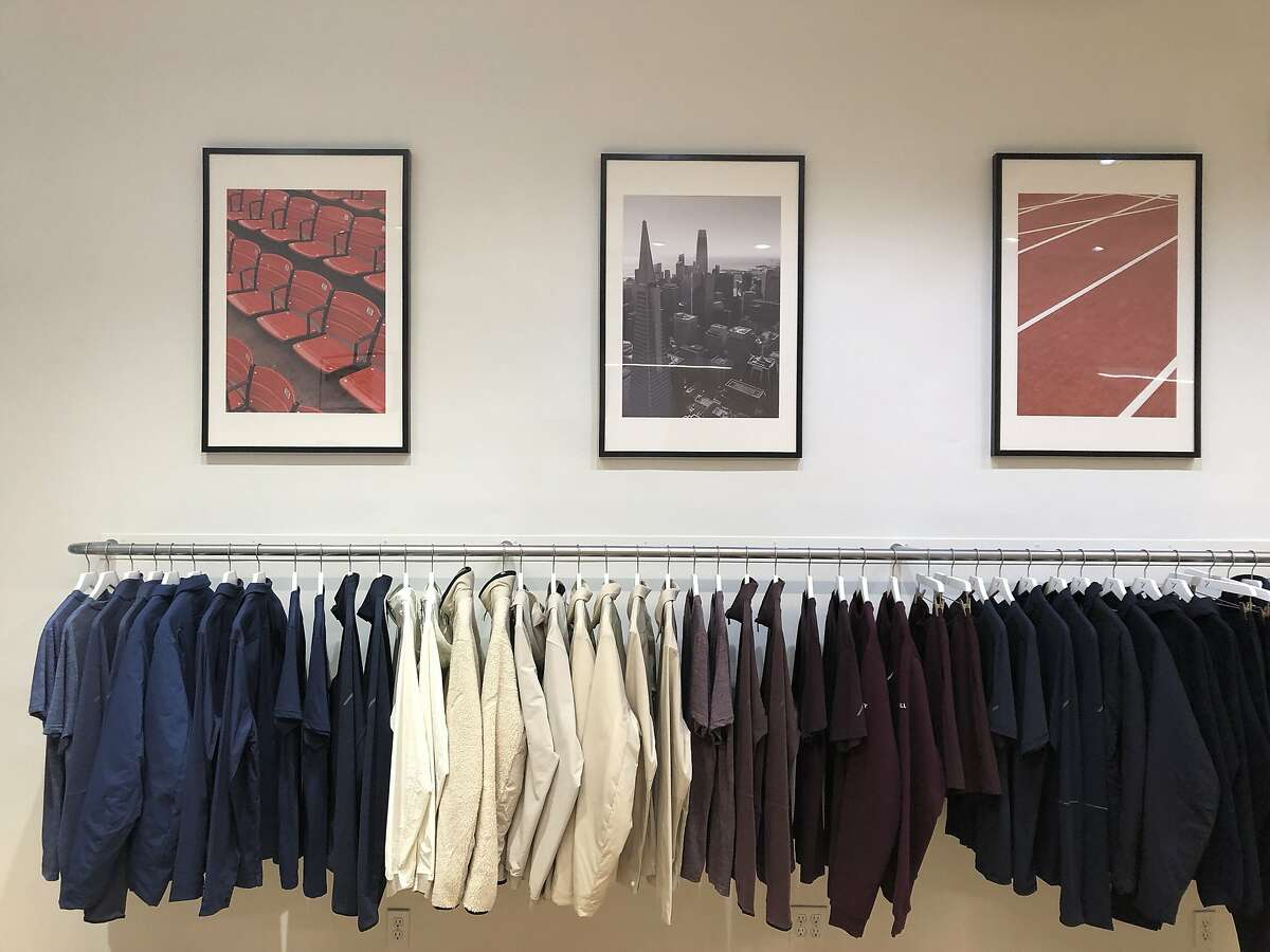 View of outside of Hill City, a new pop up men's store in Hayes Valley opening on Tuesday, October 15, 2019, in San Francisco, Calif.