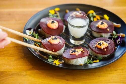 Shizen in San Francisco makes a stellar case for vegan sushi