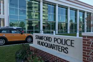 The Stamford Police Headquarters.