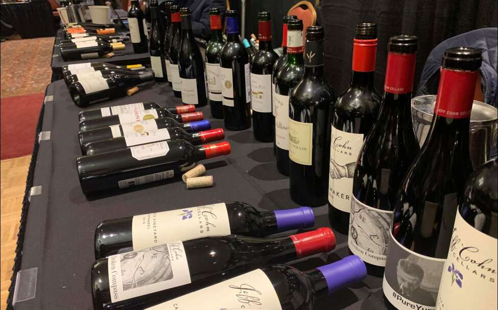 Tariffs against specialty foreign products - including single-malt scotch, Irish whiskey and French wines - were on the minds of some vendors at the New York State Liquor Store Association's holiday trade show on Tuesday.