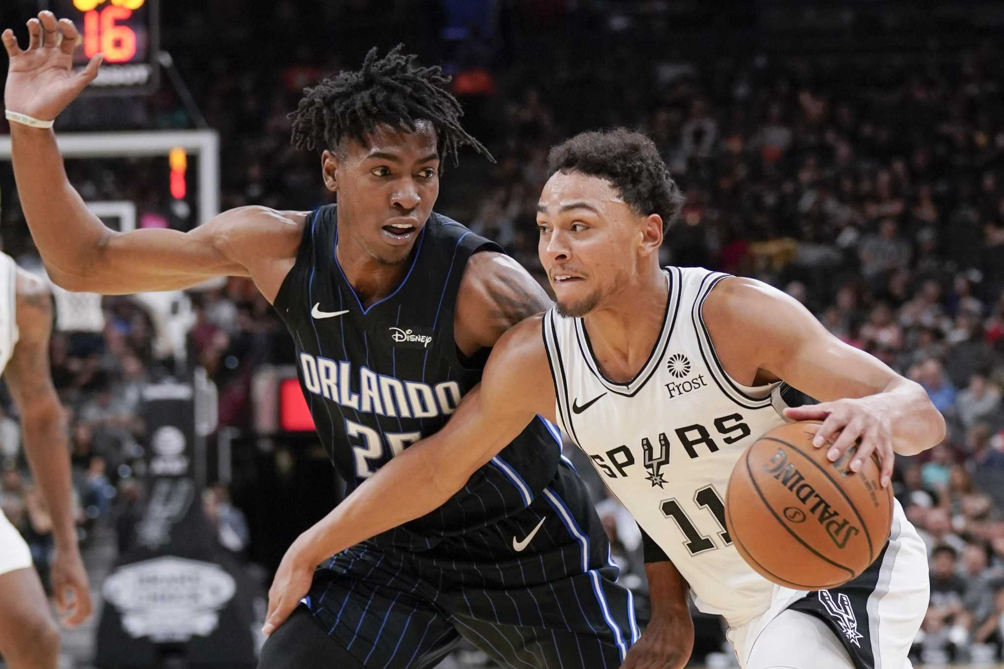 Spurs notebook: Bracing for Russ the Rocket