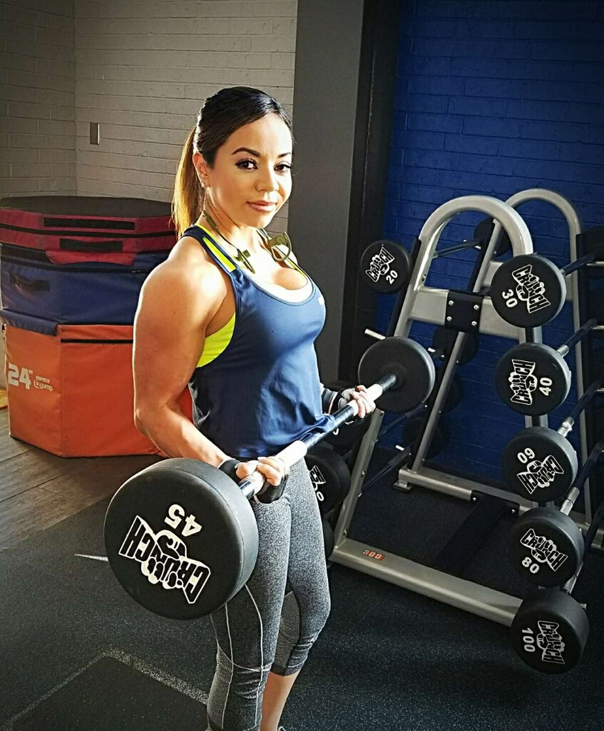 Cindy Long O'bryant at Crunch Fitness Gym