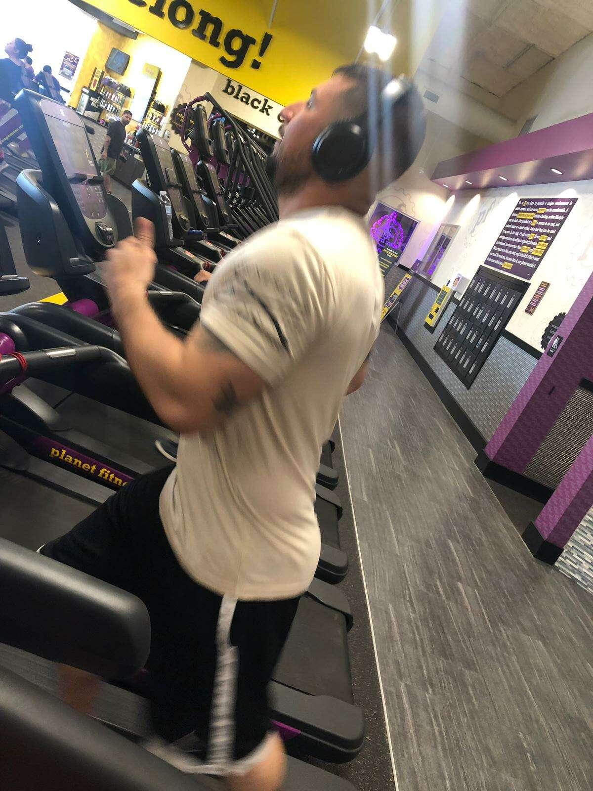 Jonathan Zapata at Planet Fitness