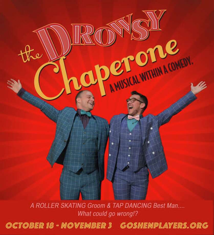 """The Goshen Players' production of """"The Drowsy Chaperone"""" opens Friday, Oct. 18. Photo: Kate Luurtsema / Contributed Photo /"""