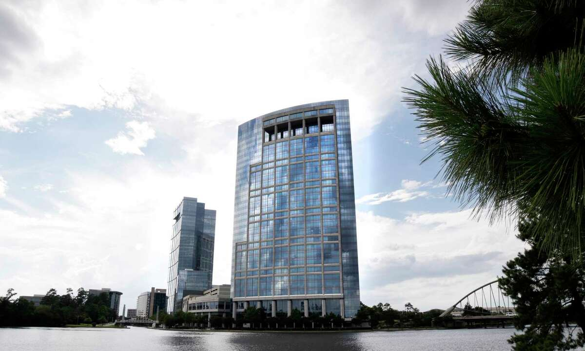 Occidental Petroleum is selling the former Anadarko headquarters in The Woodlands to help pay down debt.