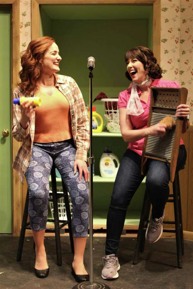 """Carlyn Connolly as Lana Mae and Laura Hodos as Katie Lanein Seven Angels Theatre's production of """"Honky Tonk Laundry."""" Photo: Paul Roth / Contributed Photo"""